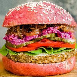 Pink Babilonio Burger