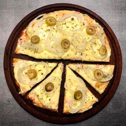 Pizzeta con Cebolla.