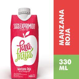 Pura Frutta Manzana Roja 330 ml