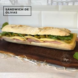Sandwich de Olivas