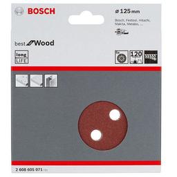 Bosch Lija Excéntricas 125 mm Rw Gr120