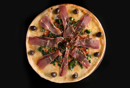 Pizza de Jamón Crudo