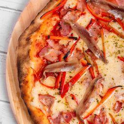 Pizza de Morrón & Anchoas