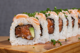Roll Dos Salmones - 10 Unidades