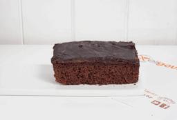 Cuadrado de Brownies con Dulce de Leche