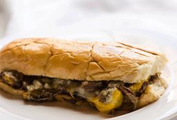 Blue Mushroom Sandwich