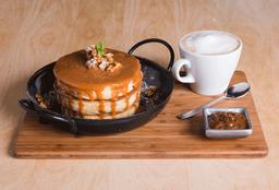 Pancakes DDL y Nuez + Infusión