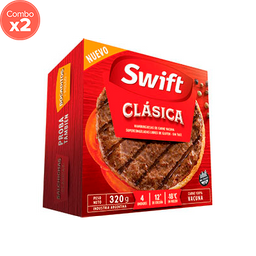 Hamburguesa Swift de Carne 320 g