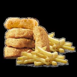 Nuggets x 5 + 2 Papas Pequeñas
