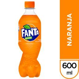 Fanta Naranja 600ml