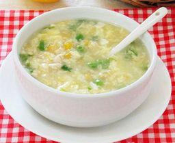 Sopa de Choclo y Pollo