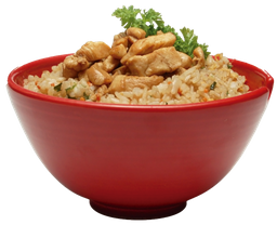 Arroz Yakimeshi con Pollo