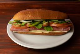 Sándwiches de Crudo y Queso