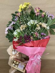Ramo de Flores Combo Enamorados Flores de Estación