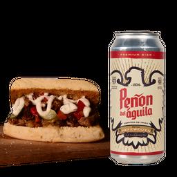 Sándwich Vaquero + Bebida