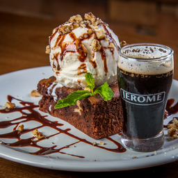 Brownie Stout Float