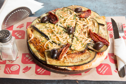 Pizza Mediterránea - Chica