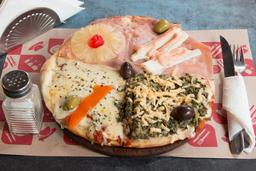Pizza de las 4 Estaciones - Chica