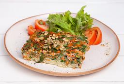 Tortilla con Vegetales Orgánicos