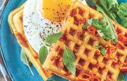 Waffle Abierto Doble Tapa