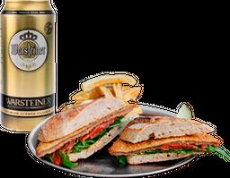 Schnitzel + Bebida