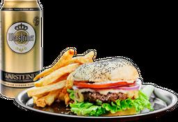 Cheese Burger + Bebida