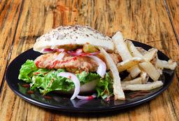 Pollo Frito Sándwich