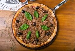 Pizza de Champignones Al Ajillo