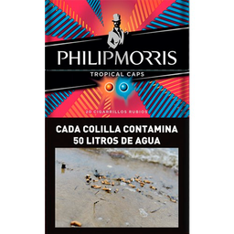 Philip Morris Cigarrillos Tropical Caps