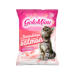 Bocadito Gato Golomiau Salmón 30Gr