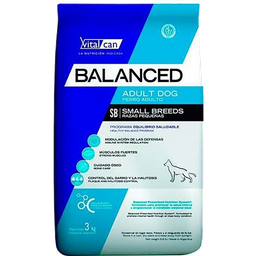 Vitalcan Balanced Adulto Small Breed 3 Kg