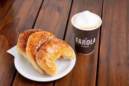 Combo 3 Medialunas & Café