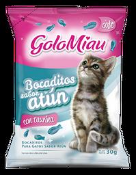 Bocadito Gato Golomiau Atún 30Gr