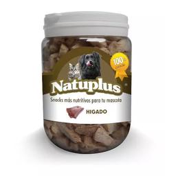 Snack Para Perros Natuplus En Balde De Higado 100Gr