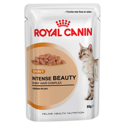 Pouch Para Gato Royal Canin Intense Beauty En Salsa 85Gr