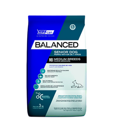Vitalcan Balanced Senior Medium Breed 3 Kg