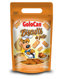 Biscuits De Pollo Horneado Golocan Para Perro 500Gr
