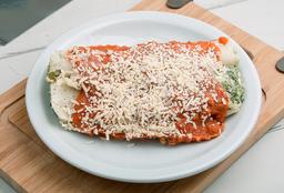 Canelones de Verdura con Salsa Fileto