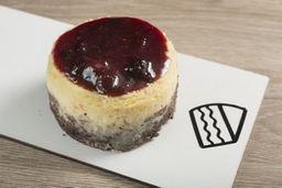 Mini Torta Cheesecake de Frutos Rojos