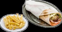 Shawarma + Papas