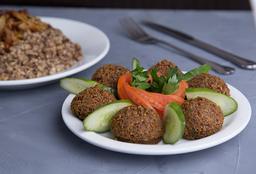 Falafel + Mjadra