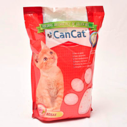 Piedras Sanitarias Can Cat Silica Gel Rosas 3,8L