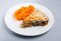 Porción de Tarta de Verdura