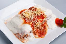 Lasagna de Verdura & Pollo