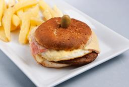 Burger Completa Doble