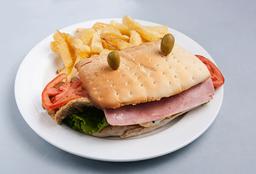 Sándwich de Milanesa de Cerdo