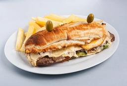 Sándwich Lomo de Cordero