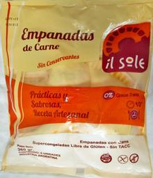 Il Sole Empanadas De Carne 6U Sin Tacc