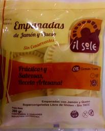 Il Sole Empanadas De Jamon Y Queso 6U Sin Tacc