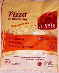 Il Sole Pizzeta De Muzzarella 2U Sin Tacc
